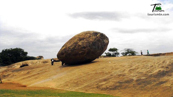 Krishna's Butter Ball, Places to visit in mahabalipuram