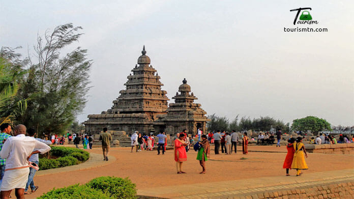 Sea Shore Temple in Mahabalipuram