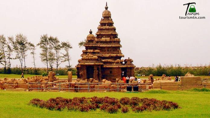 Seashore temple, Mahabalipuram