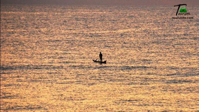Fisher in Mahabalipuram