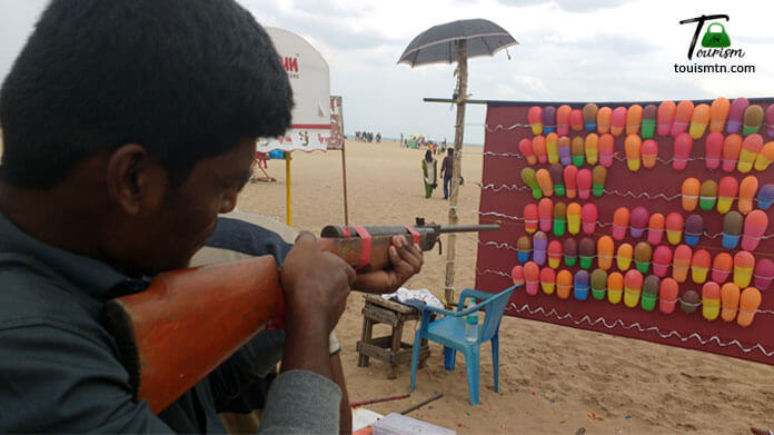 Gun Shooting games in mahabalipuram
