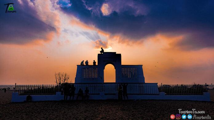 Besant Nagar or Elliots beach