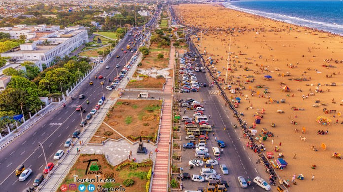 Marina Beach Madras