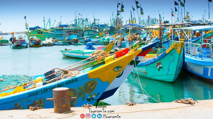 Royapuram Fishing Harbour
