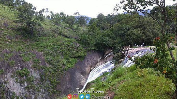 Thalaiyar waterfalls top